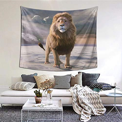 Ameok-Design The Chronicles of Narnia, The Lion The Witch And The Wardrobe Wandteppich, Wandbehang, Decke, Wandkunst, perfekte Dekoration, Schlafzimmer, Wohnzimmer, Wohnheim, 152,4 x 127,7 cm