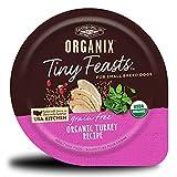 Castor & Pollux Organix Tiny Feasts Grain Free Organic Turkey Recipe Dog Food Trays, (12) 3.5oz cans