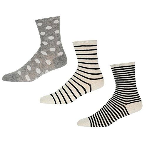 Pepe Jeans Damen Socken ANNALISE 3 Paar, Größe:One Size