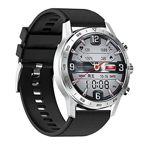 ZGZYL 2021 Nuevo DT70 Smart Watch Ladies 454 * 454 HD Pantalla con ECG + PPG Sangre Oxygen Care Rate Scour Monitoring Fitness Tracker IP68 Reloj Deportivo Impermeable,F