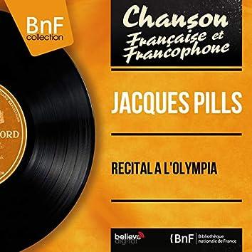 Récital à l'Olympia (feat. Gaston Lapeyronnie et son orchestre) [Live, Mono Version]