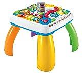 Fisher-Price Mattel DRH34 Zweisprachiger Lerntisch Zweisprachig, mehrsprachig, Sin Talla, Mehrfarbig, Spanisch