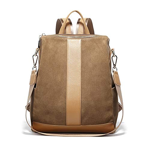 Read About Modern Simplicity Woman's Backpack,Travel Shopping Backpack, Girl's Study Bag/Brown