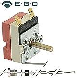 Fagor - Termostato para freidora FG9-10, FG9-05, FG-720, FG9-05S, FG-710, 23 mm, ángulo de giro superior de 1 polo, 270°, sensor de 3,1 x 201 mm 1NO