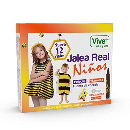 Vive+ Jalea Real para Niños - 12 Unidades