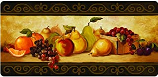 Apache Mills Cushion Comfort Gourmet Fruit Kitchen Mat, 20-Inch by 42-Inch