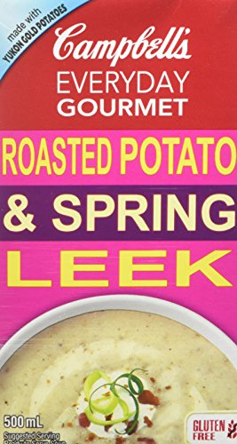 Campbell's Everyday Gourmet, Roasted Potato & Spring Leek Soup, 500 mL