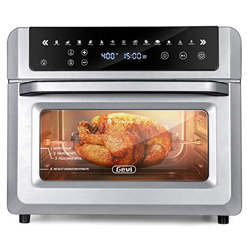 13-in-1 Air Fryer Oven,19 QT Air Fryer Toaster Oven Combo for Large Family,Convection...