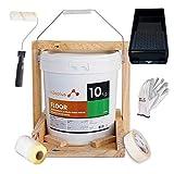 Pintura para Suelos Exterior e Interior Floor Verde 10Kg · Pintura para Suelos Garaje, Hormigon, Asfalto o Baldosa · Producto Natural 100% en Base Agua, SIN Olor a Disolventes Químicos · Promoción G