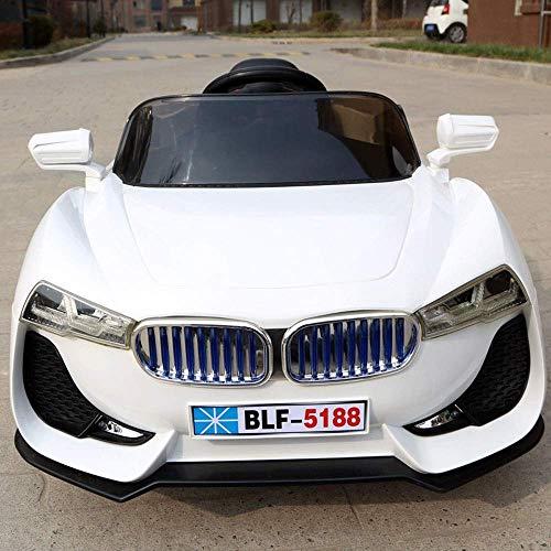WGFGXQ Kinder Elektroauto Schaukel Doppelantrieb Baby kann Menschen Auto 1-3-6 Jahre alt ferngesteuert Spielzeugauto sitzen Mitfahrgelegenheit Kinderautos Mitfahrgelegenheit SPI