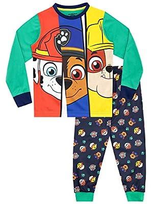 Paw Patrol Pijamas de Manga Larga para niños La Patrulla Canina Multicolor 12-18 MESI de