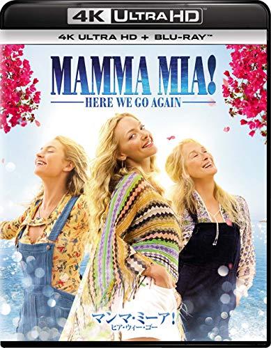 【Amazon.co.jp限定】マンマ・ミーア!  ヒア・ウィー・ゴー [4K ULTRA HD + Blu-rayセット]<英語歌詞字幕付き>(特典映像ディスク付き)