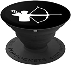 Archer with bow and arrow PopSockets Grip and Stand for Phones and Tablets