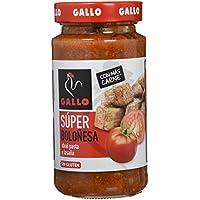 Pastas Gallo - Salsa Super Boloñesa Tarro 400 g