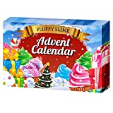 Advent Calendar 2021 - DIY Fluffy Slime Kit - Countdown to for Kids Girls Teens 4 5 6 7 8 9 Year Old