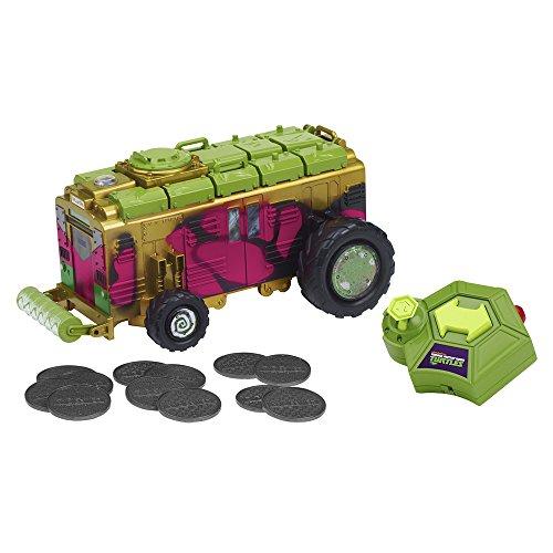 Tortues Ninja - 5431 - Radio Commande - Camion De Combats À Fonctions