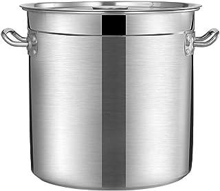 WQF Base de inducción de Tapa de Acero Inoxidable de 45 cm de Profundidad Grande de Acero Inoxidable para cocinar