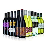 Ultimate Australian Red and White Wine Mix - 12 Bottles (