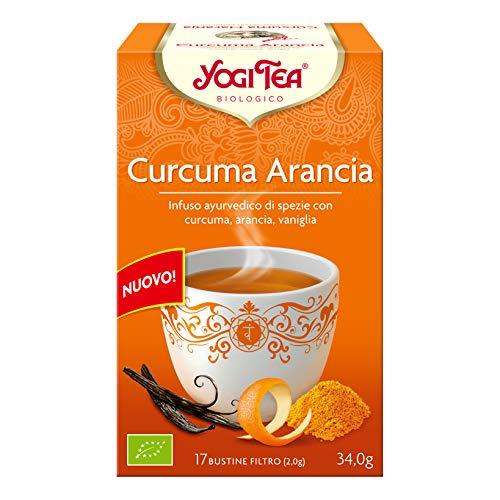 Yogi Tea Yogi Tea Curcuma Orange 17sob Yogi Tea 1 Unité 500 g