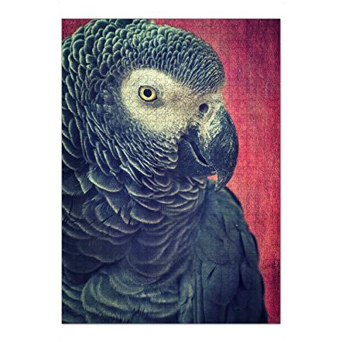 artboxONE Ravensburger-Puzzle XL (1000 Teile) Tiere Dora Will Keks - Puzzle papagei papagei tierportrait