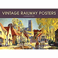 Vintage Railway Posters National Railway Museum A4 Calendar 2022