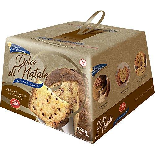 Piaceri Mediterranei - Panettone senza glutine con gocce di cioccolato - 450g