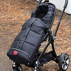 Fu/ßsack Babyschale Kinderwagen Buggy Winterfusssack Tragewanne Baby Schlafsack Winter Fu/ßsack mit 3 Rei/ßverschluss f/ür Baby von 0-6 Monate Rosa-Sterne