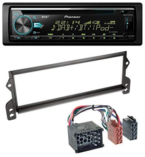 caraudio24 Pioneer DEH-X7800DAB DAB MP3 CD USB Bluetooth Autoradio für Mini (bis 2002, Rundpin)