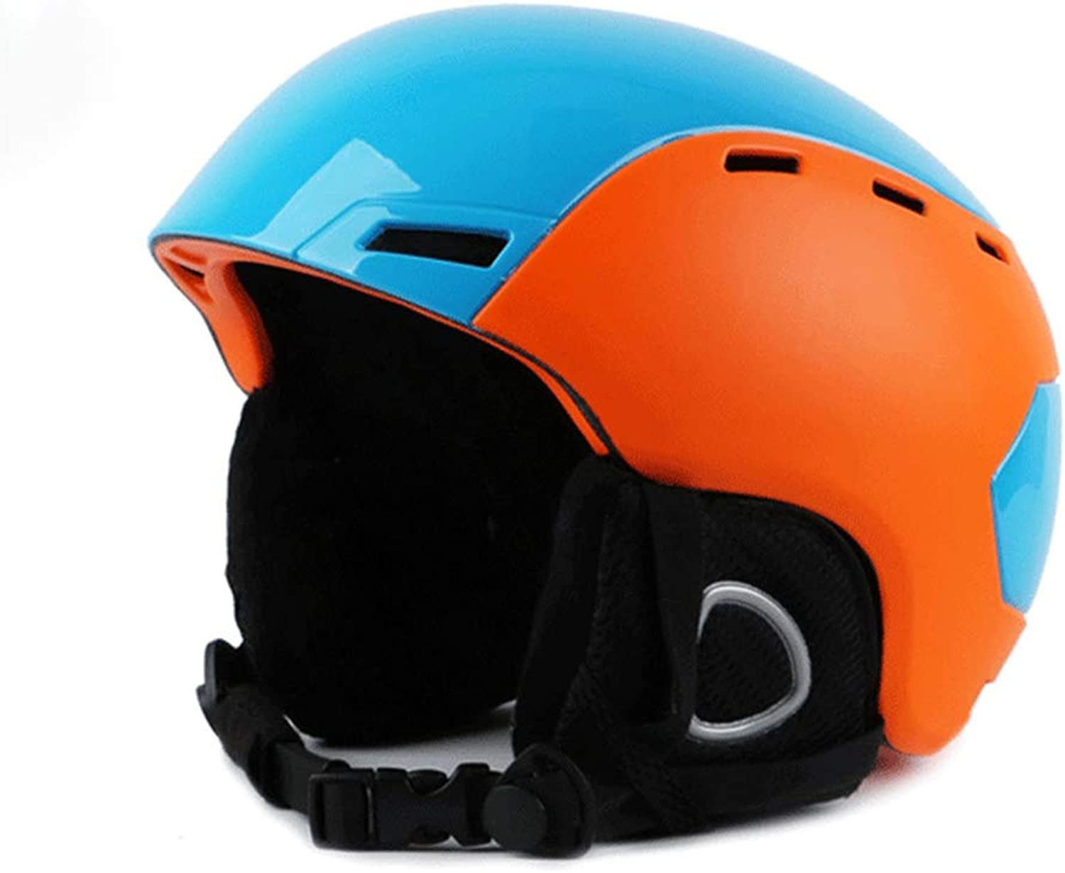 XBDOT Professional Snow Helmts Quality Certified 2-In-1 2-In-1 2-In-1 Cabrio Ski Skate Bike Adult Men damen Helm Skiing Helmet Ventilation Control and Comfortable Liner Blau & Orange (M, L),M B07L2STKPB  Geeignet für Farbe b4aacb