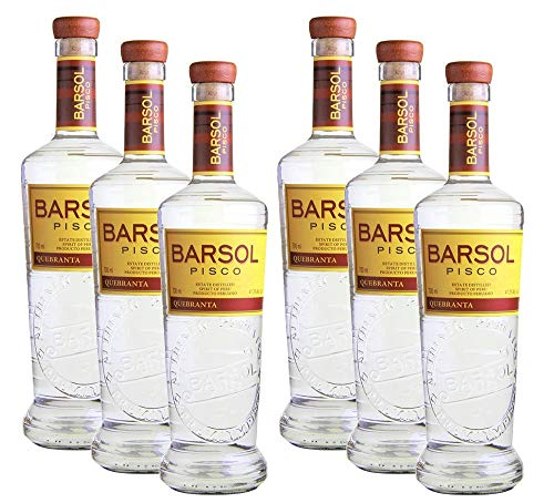 Barsol Pisco Quebranta[6 x 700ml, 41,3%]
