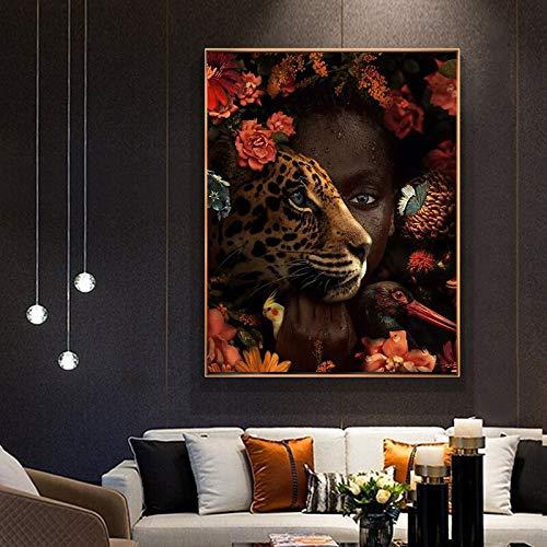wZUN Afrikanische Kunst Schwarze Frau...