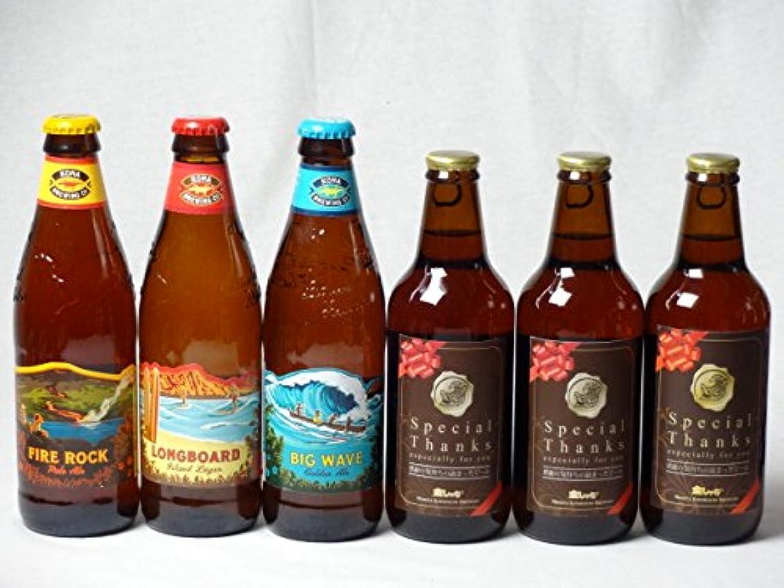 島スイング写真のクラフトビールパーティ6本セット IPA感謝ビール330ml×3本 ハワイコナビールファイアーロック?ペールエール355ml ロングボードアイランドラガー355ml ビッグウェーブ?ゴールデンエール355ml