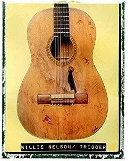 Willie Nelson Trigger Guitar art music print