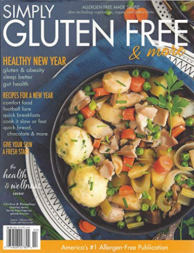 Simply Gluten Free & More Magazine January February 2021 Healthy New Year