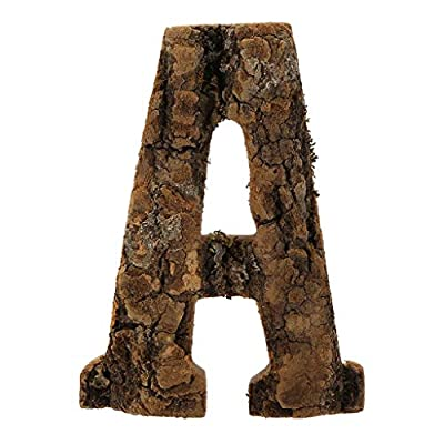 Clearance Sale!DEESEE(TM)????????Natural Wooden 26 Marquee Letter Alphabet Name Sign for Wedding Home Party