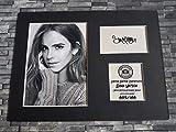 Emma Watson Signed Autograph Display?Hermine