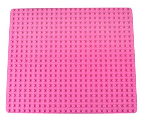Strictly Briks - Stapelbare Premium-Bauplatte - kompatibel mit Bausteinen Aller führenden Marken - nur für Steine mit großen Noppen geeignet - 16,25