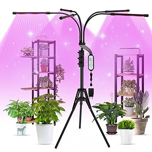 Aogled LED Cultivo Interior 50W,150LED Lámpara de...