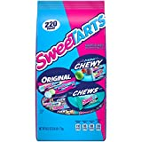 SweeTARTS Mini Chewy, & Chews Variety Pack, Sour and Sweet, original 220 Count