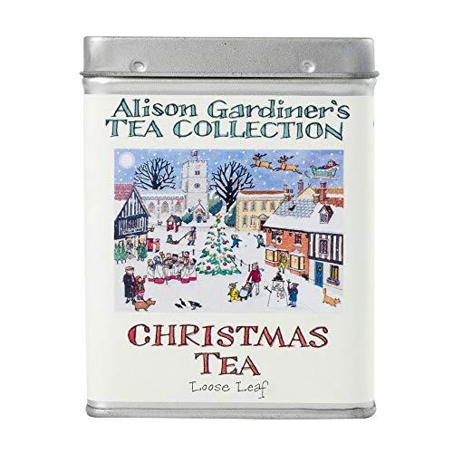 Alison Gardiner Designs Christmas Tea Caddy & Tea