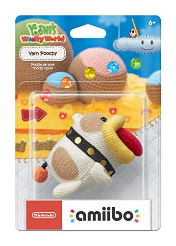 Nintendo Yarn Poochy amiibo Collectable - Wii U