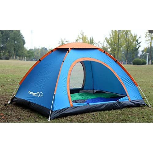 UK Waterproof 3-4 Person Instant Pop Up  Beach Tent Camping Shelter