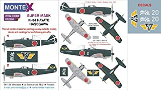 Montex Super Mask 1:32 Ki-84 Frank for Hasegawa Kit Spraying Stencil #K32265