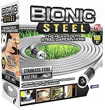 Bionic Steel 100-ft Garden Steel PRO Garden Hose