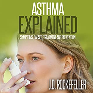 Asthma Explained audiobook cover art