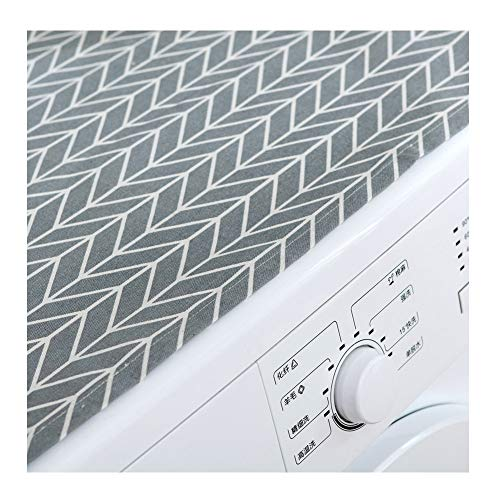 """AKOAK 1 Pack 55 x 130cm/22"""" x 51"""" Multi-functional Household Cloth Dust Cover, Suitable for Refrigerator, Roller Washing Machine, Microwave Oven Cover, etc"""