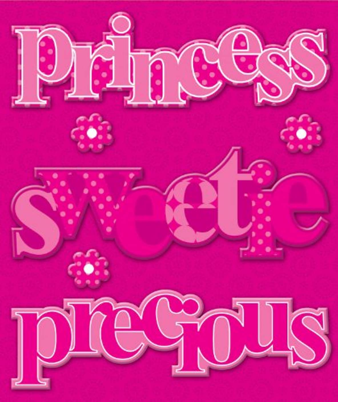 K&Company EK Success General Words Pink Chipboard Page Titles
