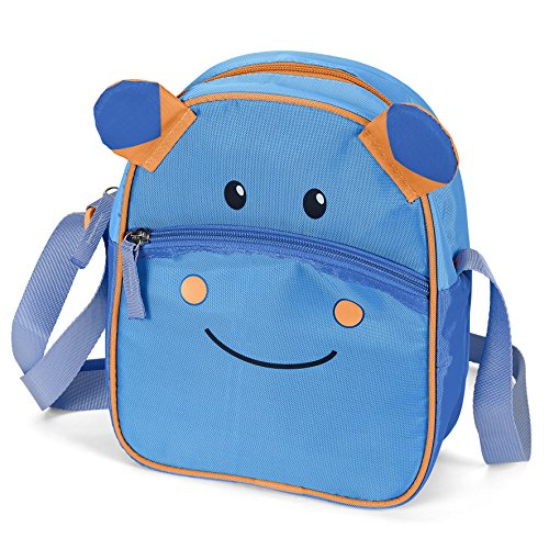 Sterntaler Kindergartentasche Norbert, Blau/Orange