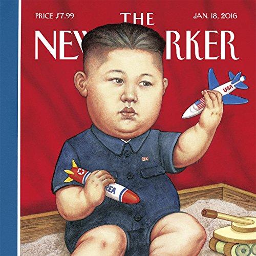 The New Yorker, January 18th 2016 (Lauren Collins, Luke Mogelson, Adam Gopnik) cover art