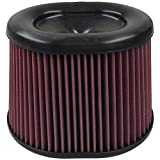 S&B Filters KF-1035 High Performance Replacement Filter (Oiled Cleanable, 8-ply Cotton)